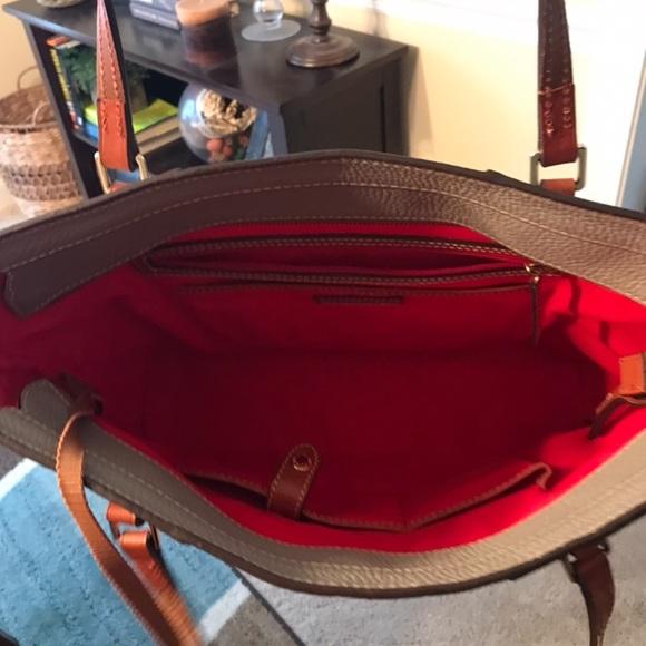 Dooney & Bourke Handbags - Dooney and bourke  leather Lexington shopper